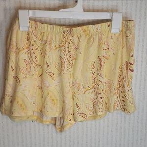Stars Above Pajama Shorts Floral Medium